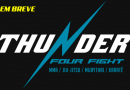 """Thunder FOUR Fight"" coloca no mesmo evento os principais nomes do MMA, Jiu-Jitsu, Muay Thai e Karate"